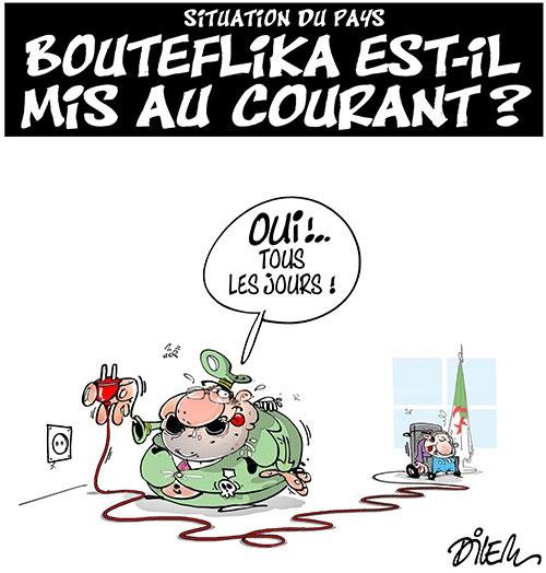 Situation du pays: Bouteflika est-il mis au courant ? - Dilem - Liberté - Gagdz.com
