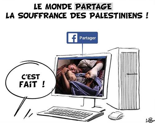 Le monde partage la souffrance des palesetiniens - Vitamine - Le Soir d'Algérie - Gagdz.com