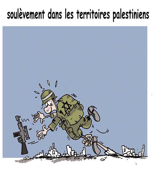 Soulèvement dans les territoires palestiniens - Lounis Le jour d'Algérie - Gagdz.com