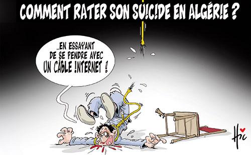 Comment rater son suicide en Algérie ? - Le Hic - El Watan - Gagdz.com