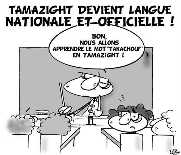 Tamazight devient langue nationale et officielle - nationale - Gagdz.com