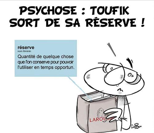 Psychose: Toufik sort de sa réserve - Toufik - Gagdz.com