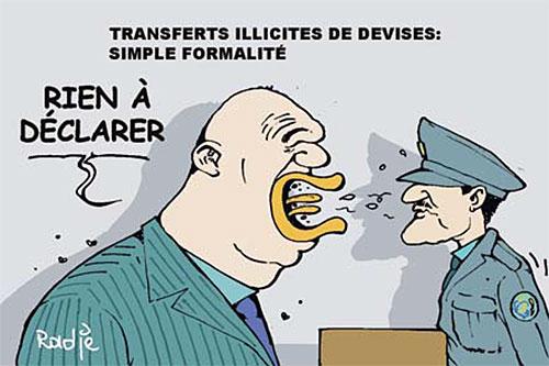 Transfert illicite de devises: Simple formalité - devises - Gagdz.com