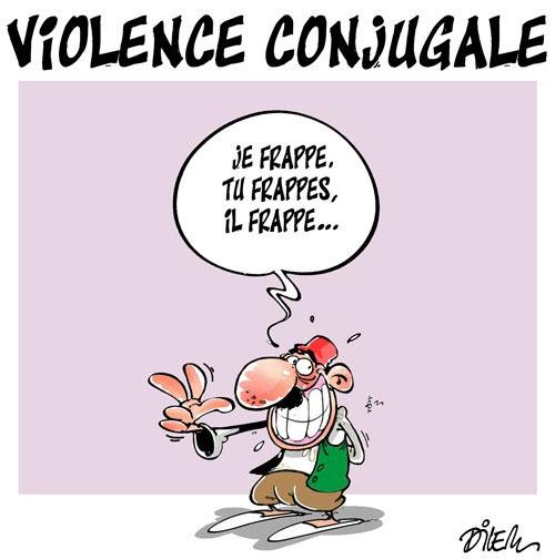 Violence conjugale - Dilem - Liberté - Gagdz.com