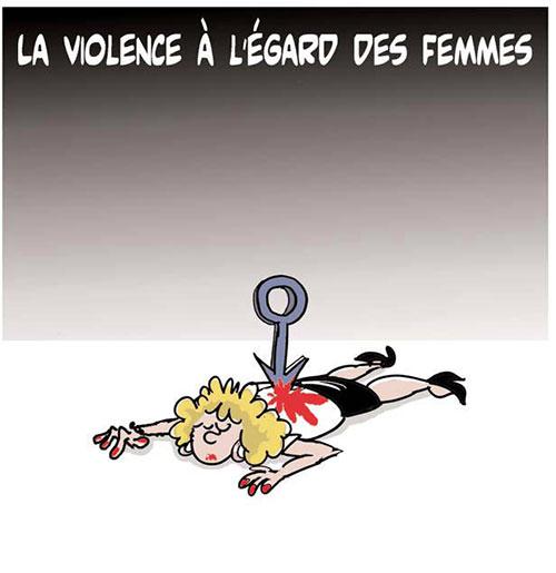 La violence à l'égard des femmes - Lounis Le jour d'Algérie - Gagdz.com