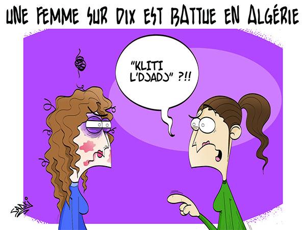 Une femme sur dix est battue en Algérie - Sadki - Le provincial - Gagdz.com