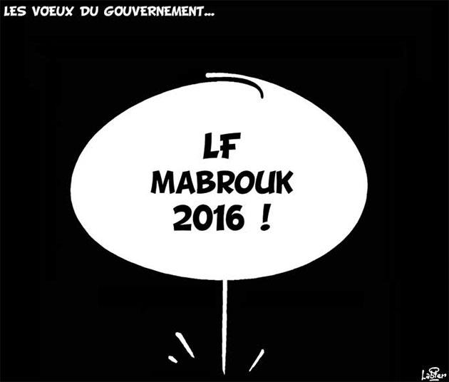 Les voeux du gouvernement - Vitamine - Le Soir d'Algérie - Gagdz.com