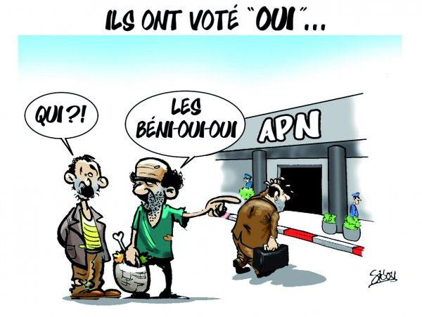 """Ils ont voté """"oui"""" - Sidou - Gagdz.com"""