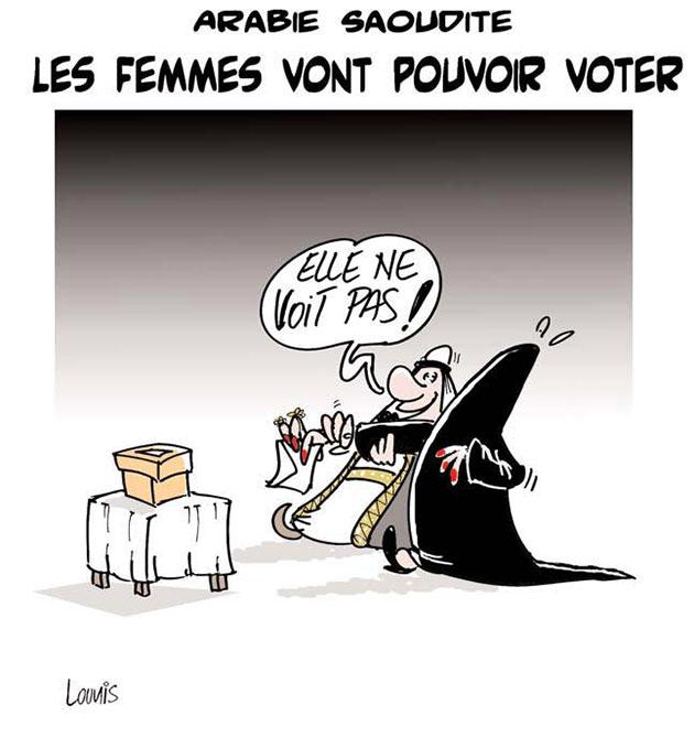Arabie Saoudite: Les femmes vont pouvoir voter - Lounis Le jour d'Algérie - Gagdz.com