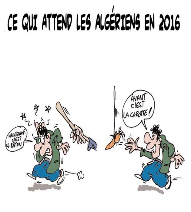 Ce qui attend les algériens en 2016