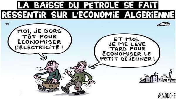 La baisse du pétrole se fait ressentir sur l'économie algérienne
