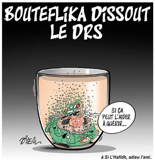 Bouteflika dissout le drs