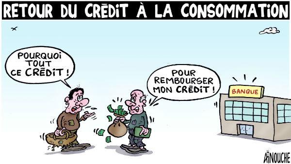 Retour du crédit à la consommation