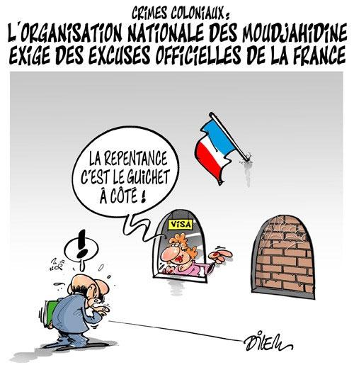 Crimes coloniaux: L'organisation nationale des moudjahidine exige des excuses officielles de la France