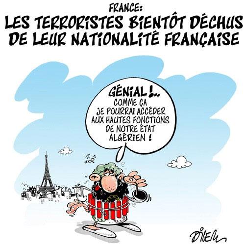 France: Les terroristes bientôt déchus de leur nationalité française