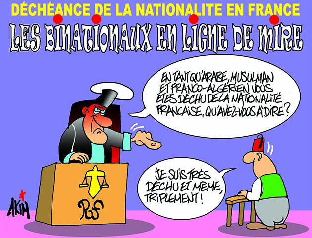 Déchéance de la nationalité française: Les binationaux en ligne de mire