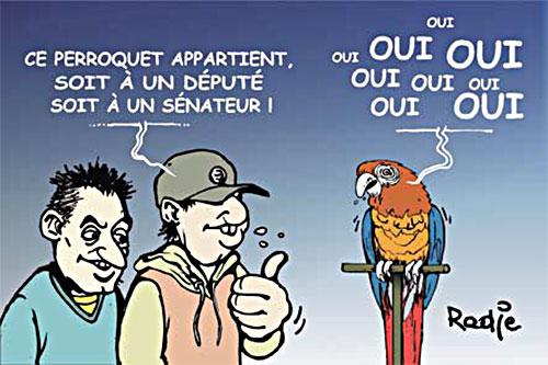 Les députés et sénateurs algériens