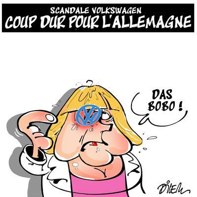 Caricature dilem TV5 du Vendredi 09 octobre 2015