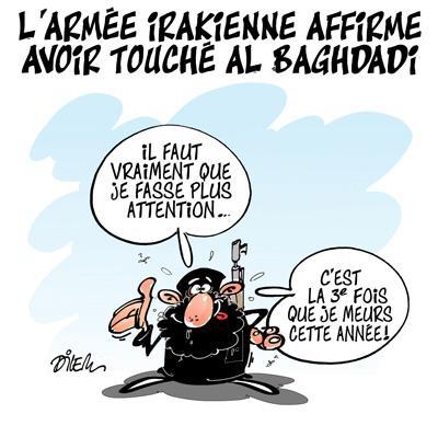Caricature dilem TV5 du Mardi 13 octobre 2015