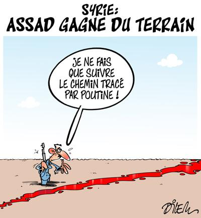 Caricature dilem TV5 du Jeudi 15 octobre 2015