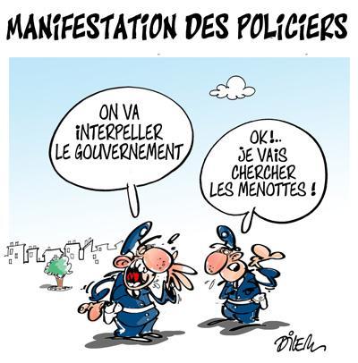 Caricature dilem TV5 du Mercredi 14 octobre 2015