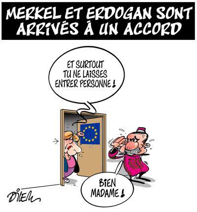 Caricature dilem TV5 du Mercredi 21 octobre 2015