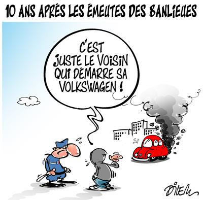 Caricature dilem TV5 du Mardi 27 octobre 2015