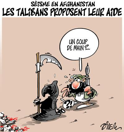 Caricature dilem TV5 du Mercredi 28 octobre 2015