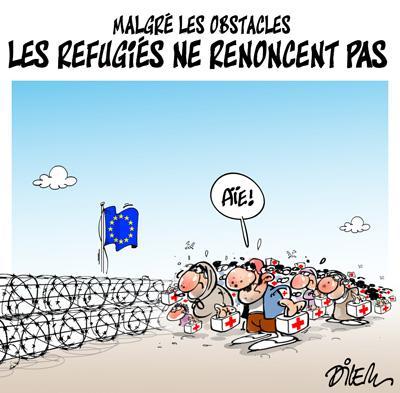 Caricature dilem TV5 du Vendredi 30 octobre 2015