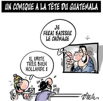 Caricature dilem TV5 du Jeudi 29 octobre 2015