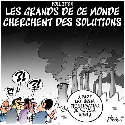 Caricature dilem TV5 du Mardi 01 décembre 2015