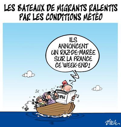 Caricature dilem TV5 du Vendredi 04 décembre 2015