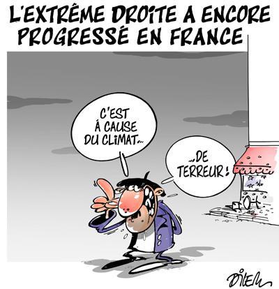 Caricature dilem TV5 du Lundi 07 décembre 2015