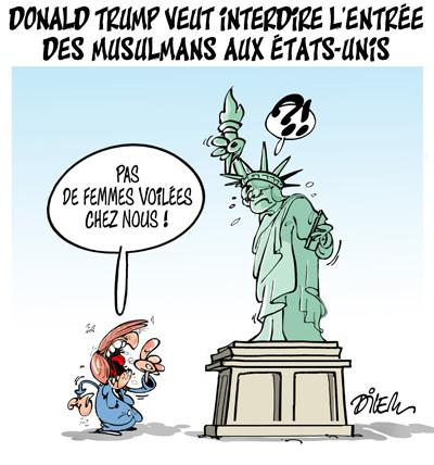 Caricature dilem TV5 du Jeudi 10 décembre 2015