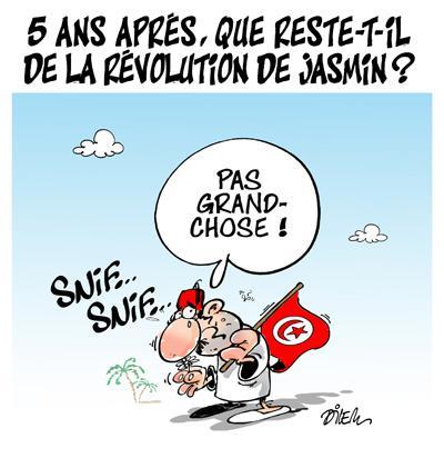 Caricature dilem TV5 du Vendredi 15 janvier 2016