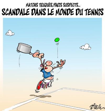 Caricature dilem TV5 du Jeudi 21 janvier 2016