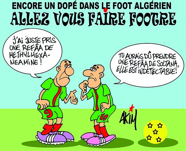 Encore un dopé dans le foot algérien