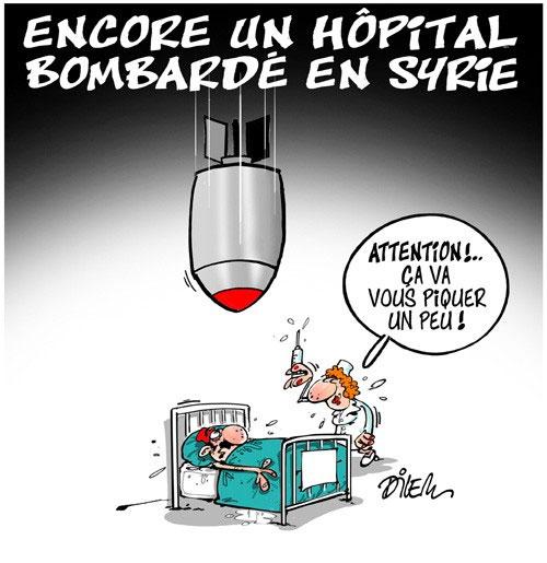Encore un hôpital bombardé en Syrie