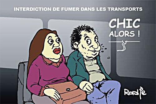 Interdiction de fumer dans les transports