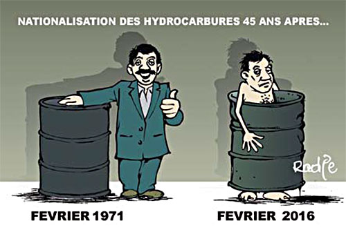 Nationalisation des hydrocarbures 45 ans après