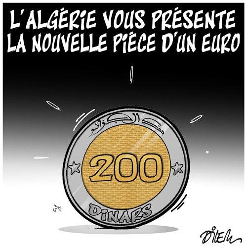 L'Algérie vous présente la nouvelle pièce d'un euro