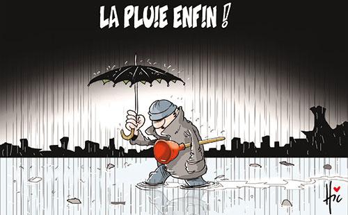 La pluie enfin !