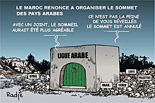 Le Maroc renonce à organiser le sommet des pays arabes