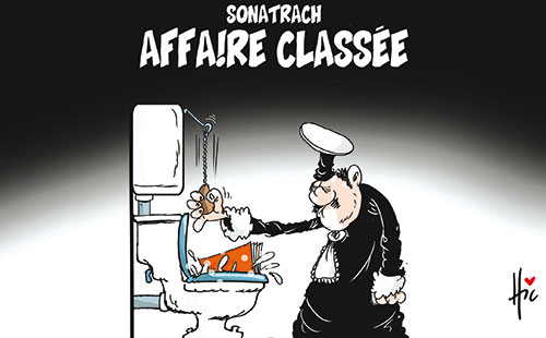 Sonatrach: Affaire classée