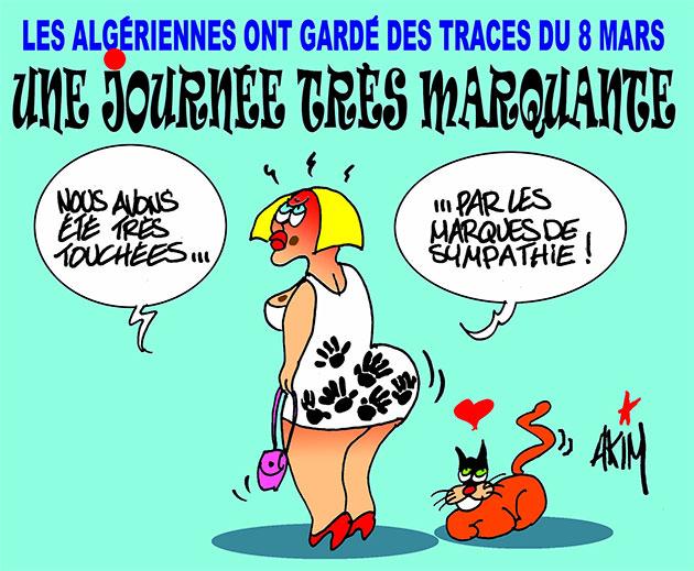 Les Algériennes ont gardé des traces du 8 mars