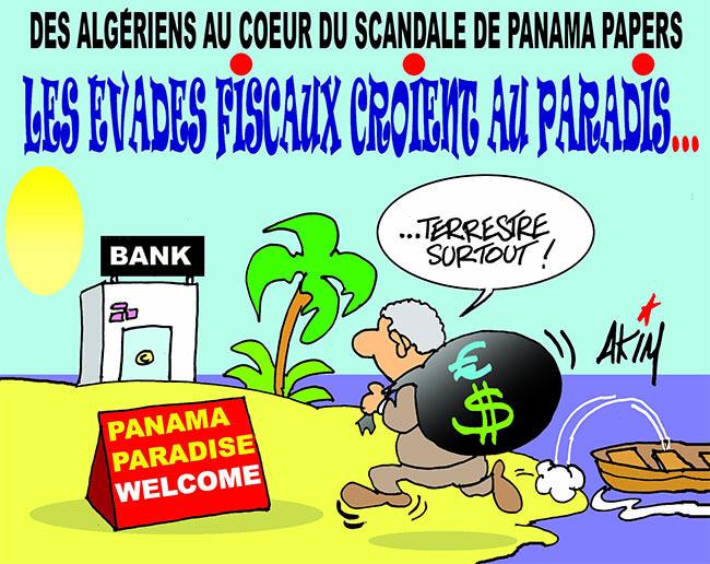 Des algériens au coeur du scandale Panama papers