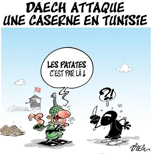 Daech attaque une caserne en Tunisie