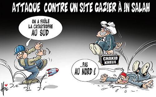 Attaque contre un site gazier à In Salah