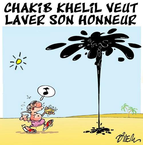 Chakib Khelil veut laver son honneur