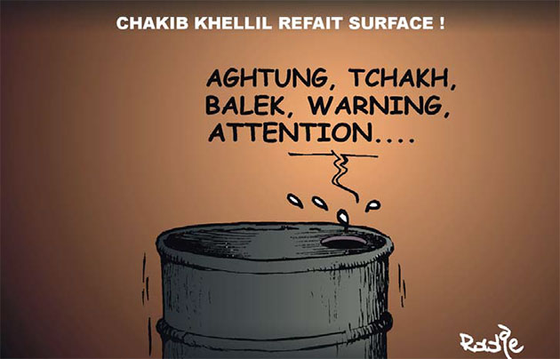 Chakib Khelil refait surface